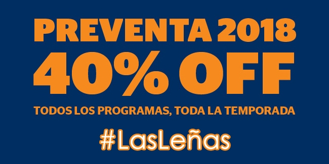 Las Leñas 40% OFF